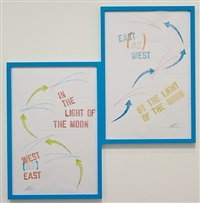 west [as] east east [as] west by lawrence weiner